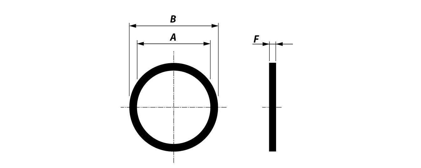 Ring JIS B2220 - 5K